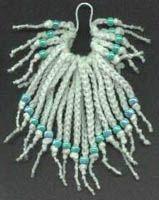 Easy Beginner's Crochet Scrunchie With Beads