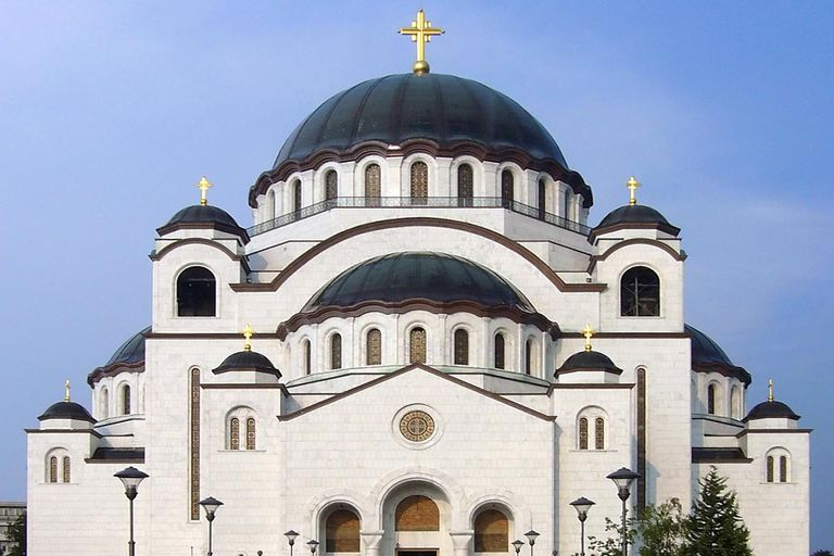 What is the eastern orthodox denomination for Architecture byzantine definition