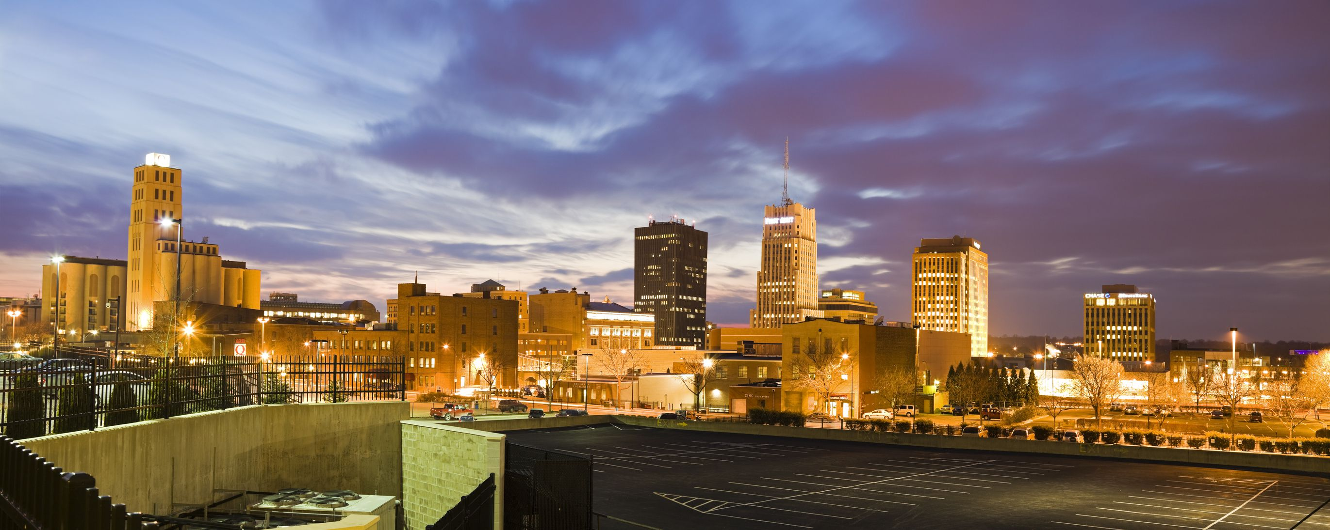akron ohio canton cityscape dusk shopping usa places getty romantic malls things gettyimages