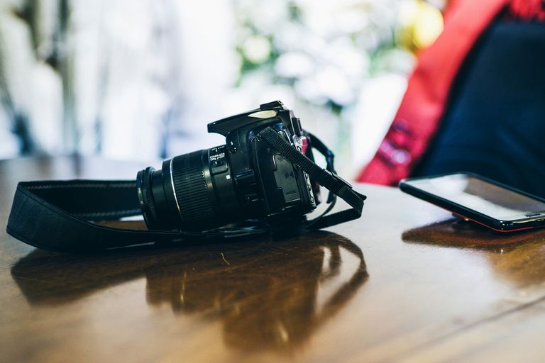 Digital cameras are packed with technology.