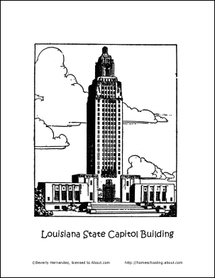 Louisiana Wordsearch, Crossword Puzzle, and More