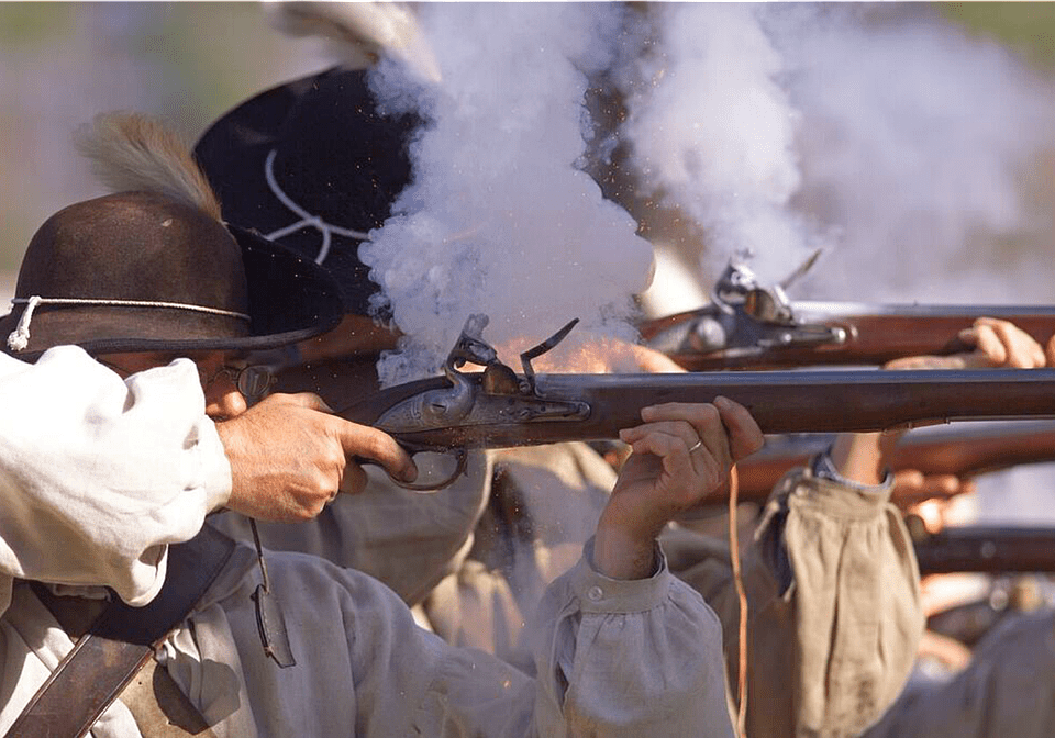 Learn to Fire a Musket at Colonial Williamsburg