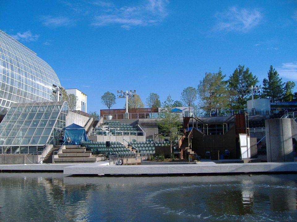 Myriad Gardens Water Stage