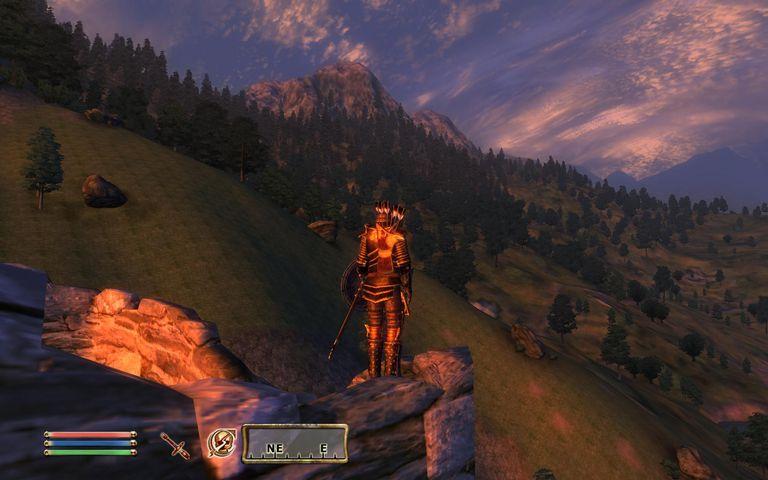 Scenes from Elder Scrolls Oblivion