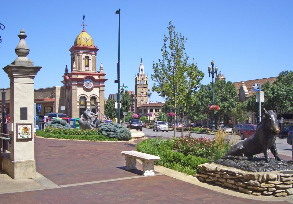 Country Club Plaza in Kansas City.