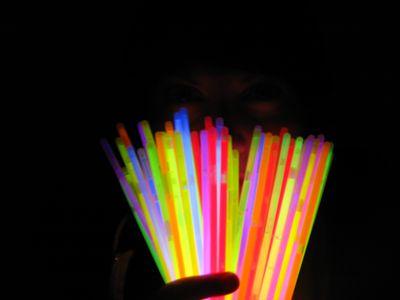 how to make fireflies light up