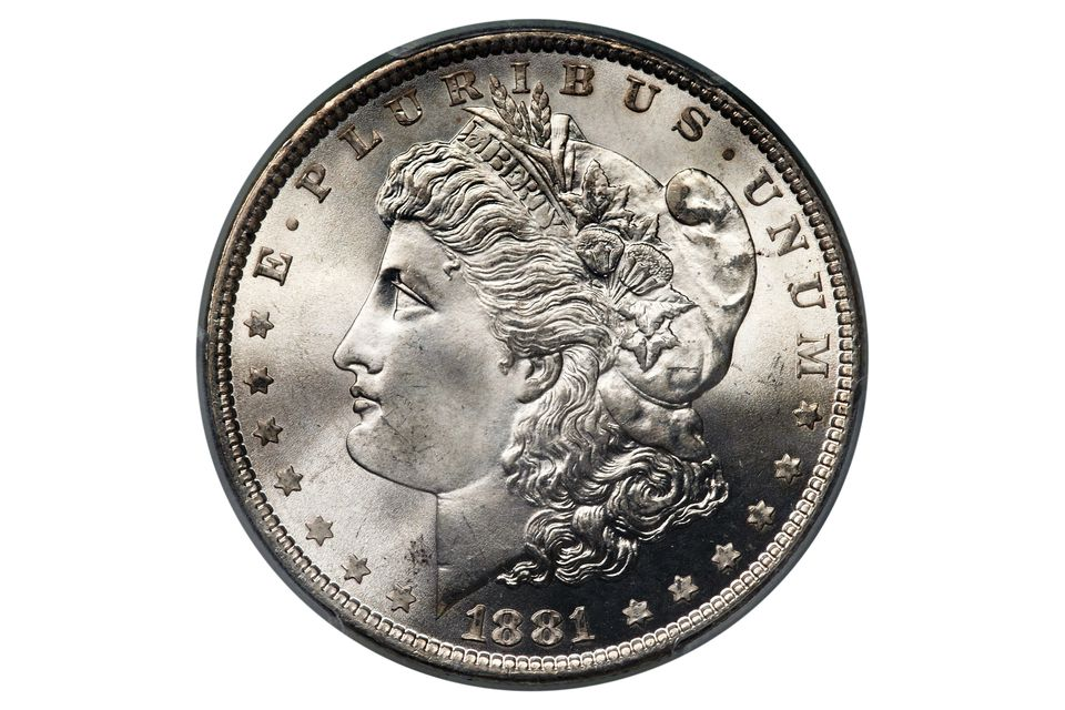 1881 PCGS MS-66 Morgan Dollar with Original Mint Luster