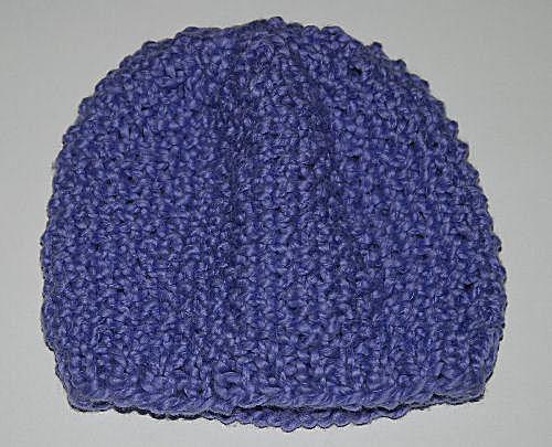 Seed Stitch Baby Hat