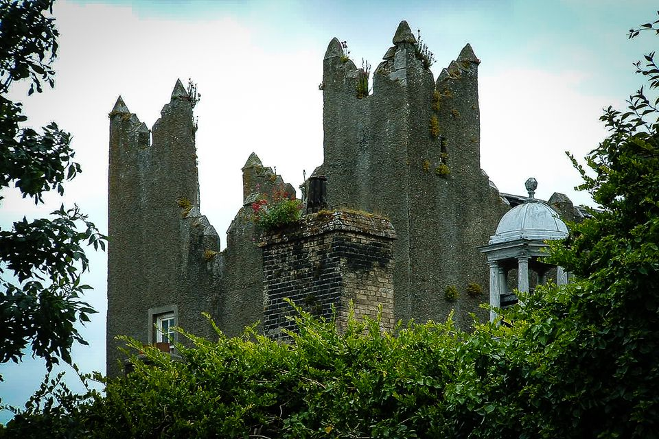 Howth Castle - picturesque in sunshine, moodily Gothic in rain or mist