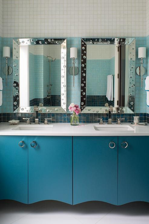 Turquoise Bathroom Tiles