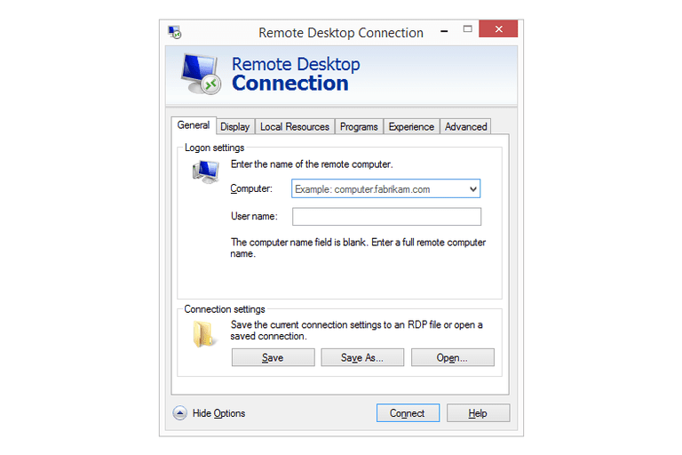 how to use windows remote access