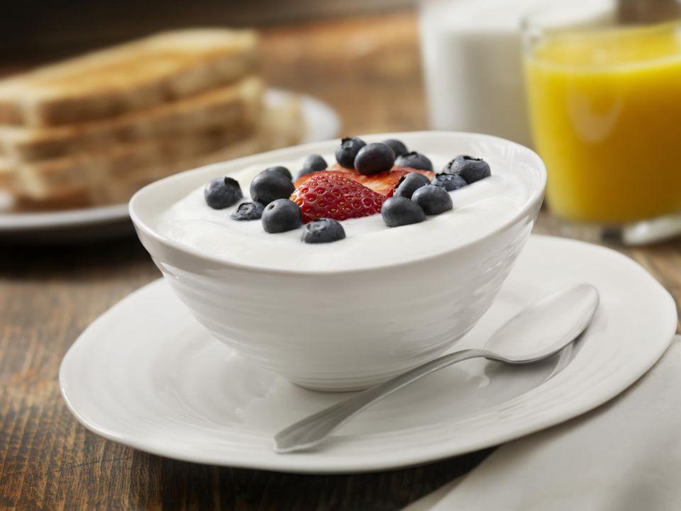 Yogurt with Fresh Fruit