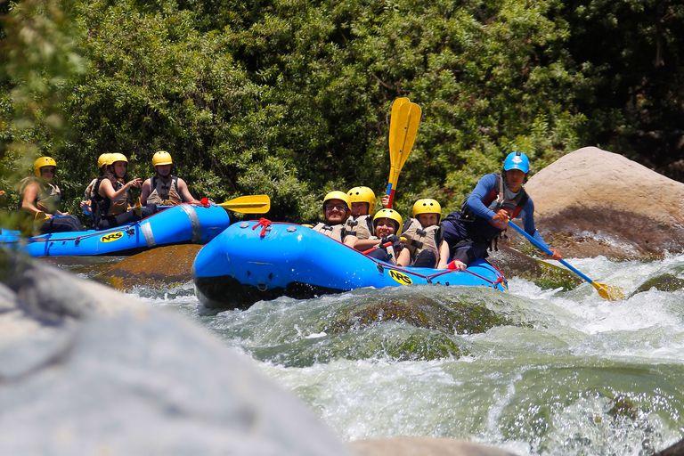 Canotaje en el río Chili