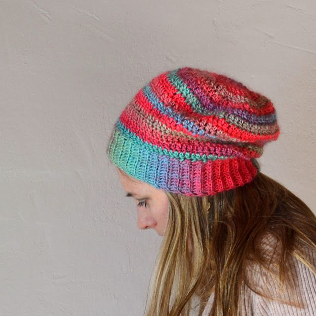 One Skein Crochet Winter Hat Free Pattern