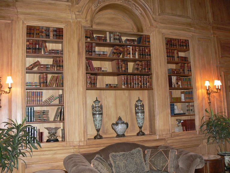 The Grand Library at Oheka Castle.