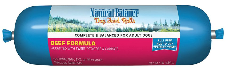 Natural Balance Dog Food Rolls How To Use
