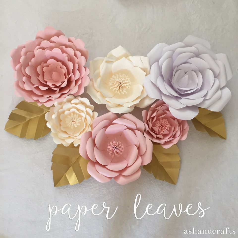 27 Fun And Easy to Make Paper Flower Projects You Can Make