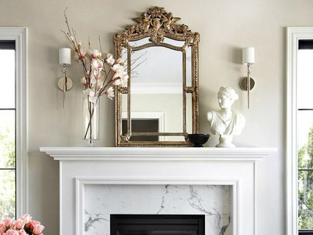 25 mantel d cor ideas for all seasons for Unique mantel decor