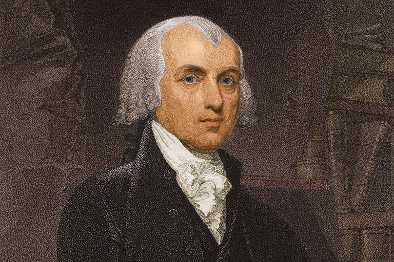 President James Madison, c. 1800