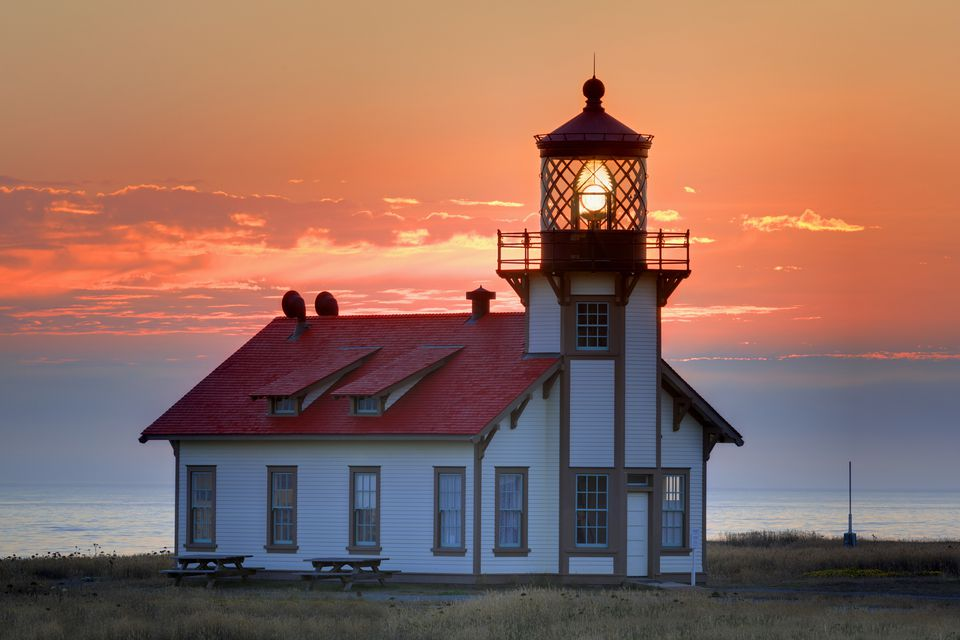 Point Cabrillo Lighthouse in Mendocino