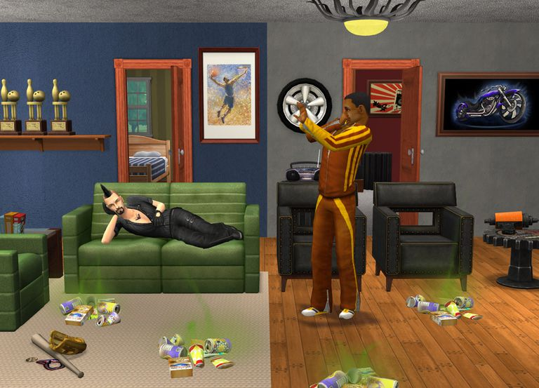 The Sims 2 Apartment Life Screenshot