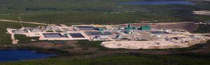 mcarthur river. the world's biggest uranium mine