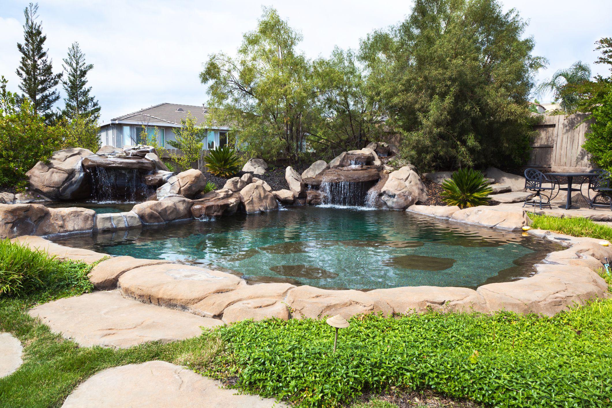 Free Form Pool Ideas | Blue haven pools, Custom swimming ... |Small Freeform Pools With Waterfalls