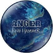 Hammer Raw Anger bowling ball.