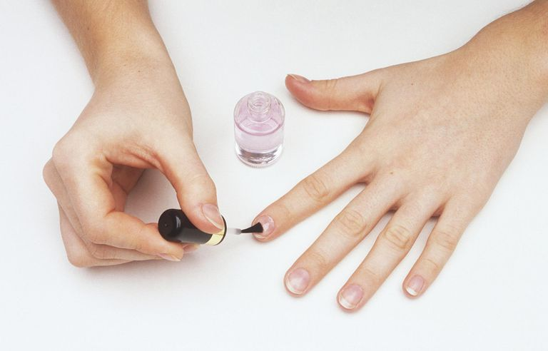 painting ridge filler on finger nails