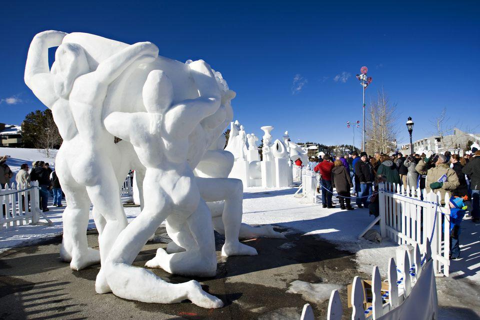 Breckenridge Snow International Snow Sculpture Championships
