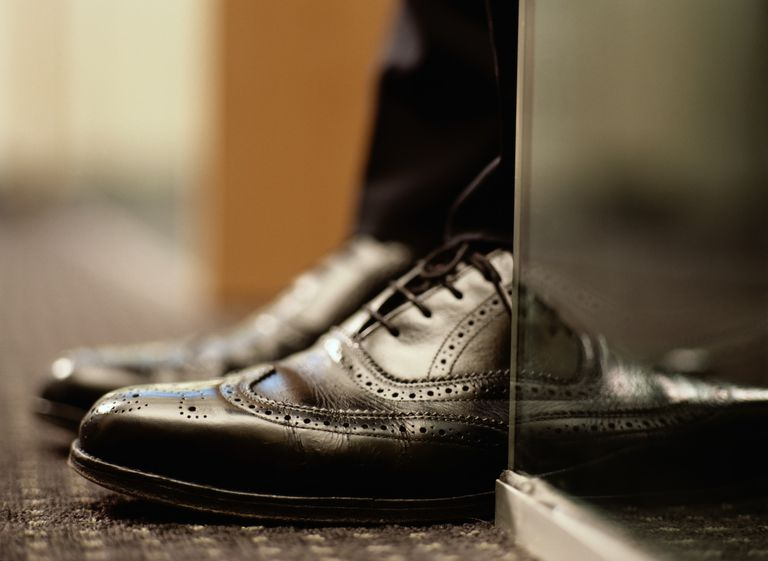 Detail of Wingtip Shoes