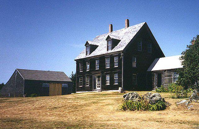 The Olson House in Cushing, Maine