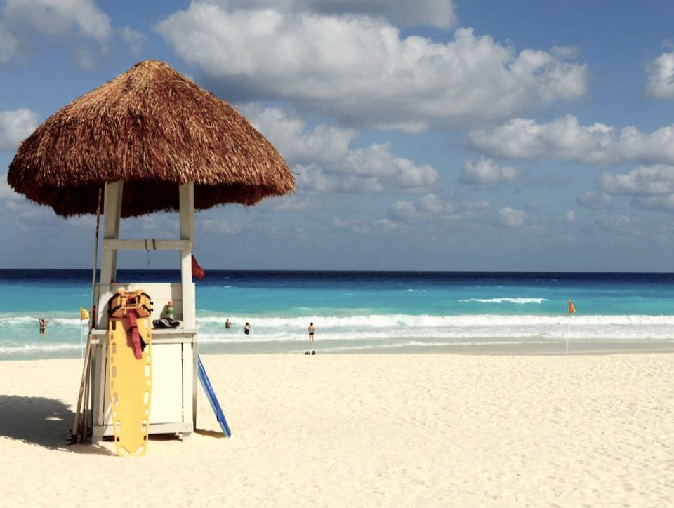 Cancun's amazing beach