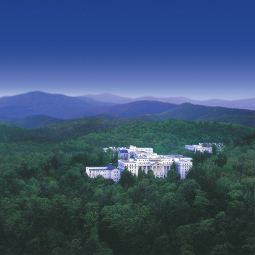Aerial View of Greenbrier