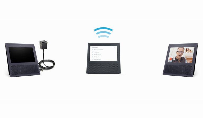 Amazon Echo Show Setup Illustration