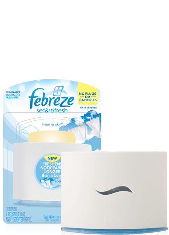febreze fabric refresher review. Black Bedroom Furniture Sets. Home Design Ideas