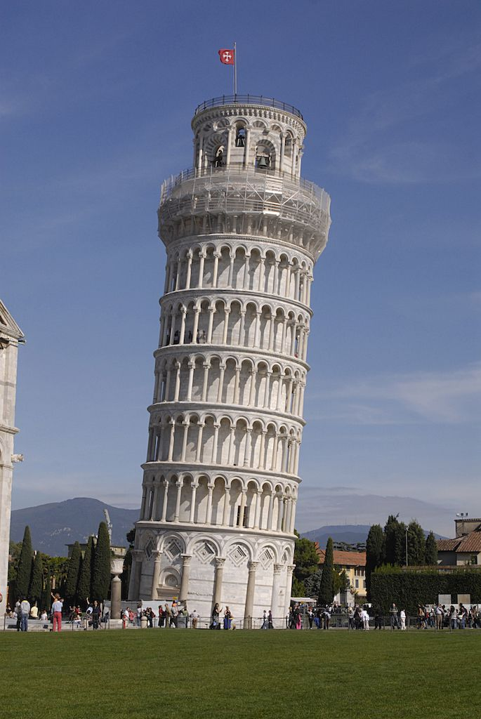 Plan a trip to the Leaning Tower of Pisa, a popular destination in Europe
