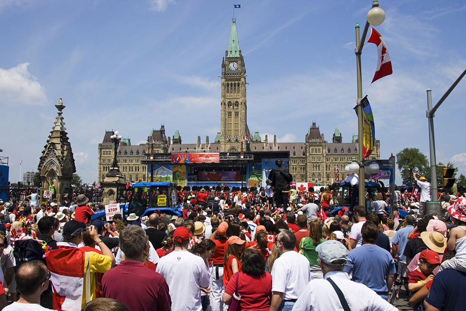 Canada Day is a national federal holiday, celebrated on July 1, annually.