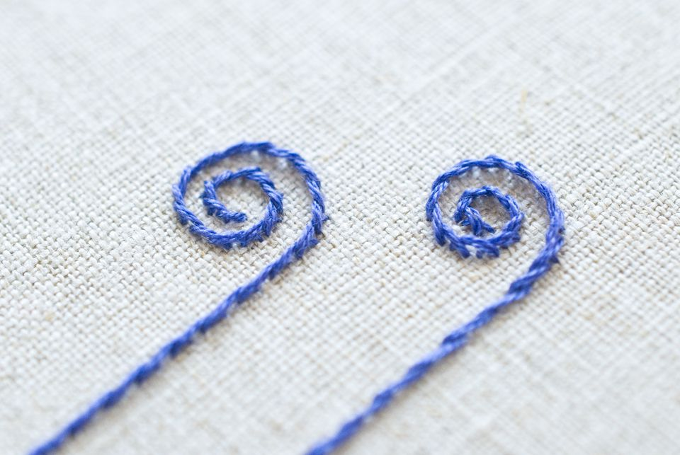 What's the Difference Between Outline and Stem Stitch?
