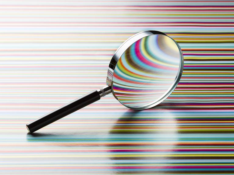 A magnifying glass symbolizes the case study research method. Learn about case studies here.