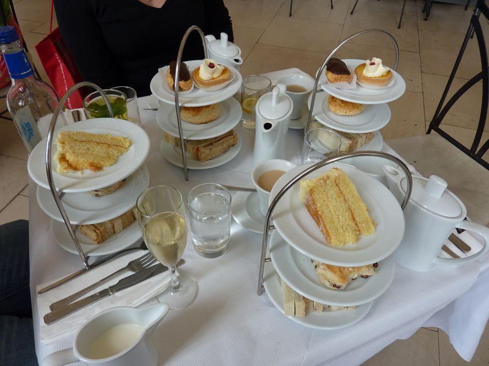Afternoon tea at the Orangery Kensington Palace London