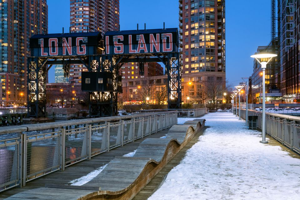 Long Island City in NYC.