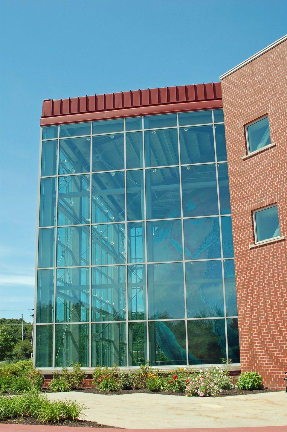 DeLorme Headquarters Home of Eartha