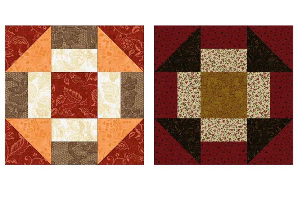 Grecian Square Quilt Blocks