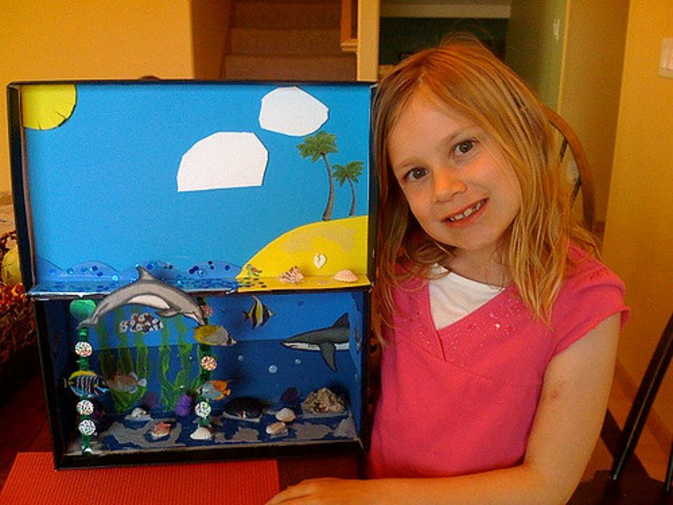 How to Make an Ocean Diorama for Earth Day