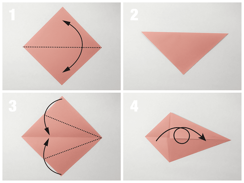 Easy traditional origami fish tutorial jeuxipadfo Image collections