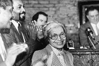 Rosa Parks in 1988