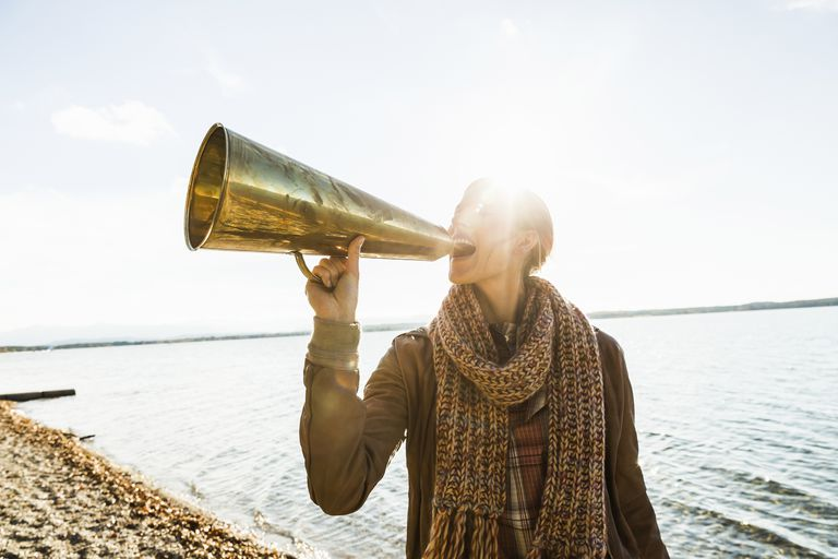 Learn how to project your voice to overcome social anxiety.