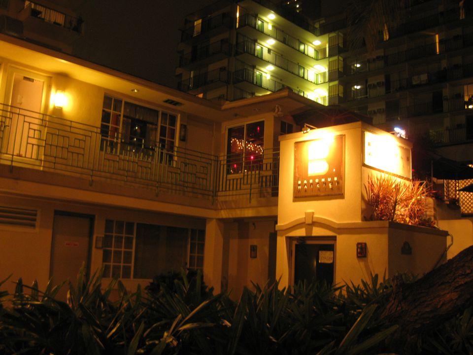Bacchus gay bar, Waikiki