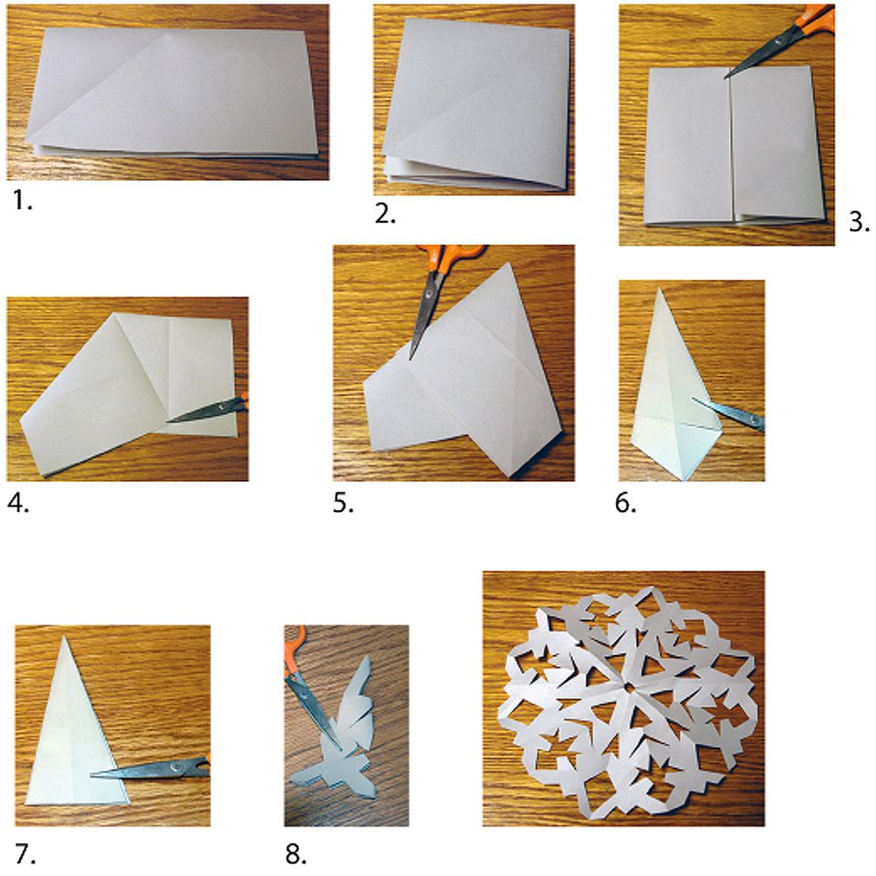 How to Cut Snowflakes From Paper or Fabric